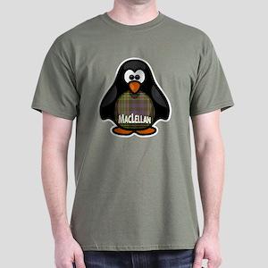 MacLellan Tartan Penguin Dark T-Shirt
