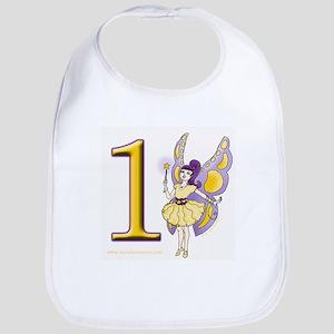 Girls Fairy 1st. Birthday Gifts Bib