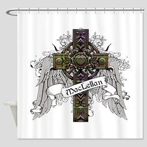 MacLellan Tartan Cross Shower Curtain
