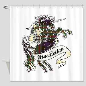MacLellan Unicorn Shower Curtain
