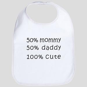 100 Percent Cute Bib