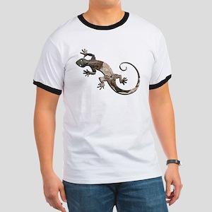 Brown Stone Gecko Ringer T