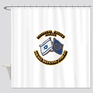 National Police Shower Curtain