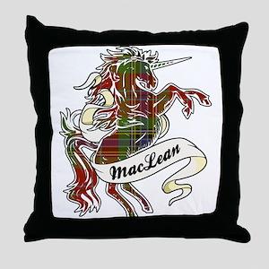MacLean Unicorn Throw Pillow