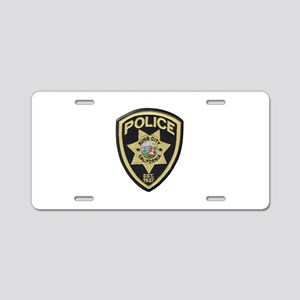 King City Police Aluminum License Plate