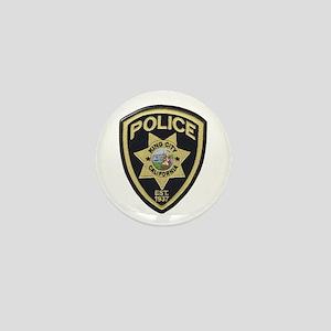 King City Police Mini Button