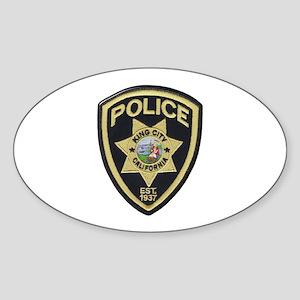 King City Police Sticker