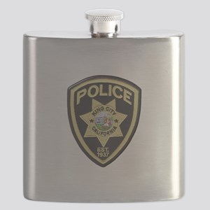 King City Police Flask