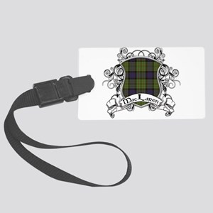 MacLaren Tartan Shield Large Luggage Tag