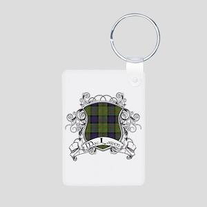 MacLaren Tartan Shield Aluminum Photo Keychain