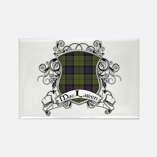MacLaren Tartan Shield Rectangle Magnet