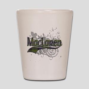 MacLaren Tartan Grunge Shot Glass