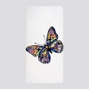 Exotic Butterfly Beach Towel