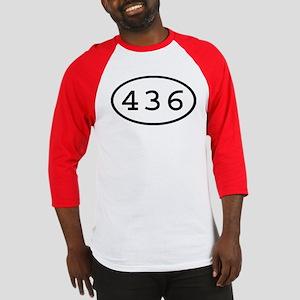 436 Oval Baseball Jersey