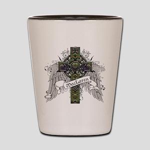 MacLaren Tartan Cross Shot Glass