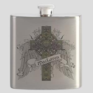 MacLaren Tartan Cross Flask