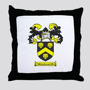 WENTWORTH Coat of Arms Throw Pillow