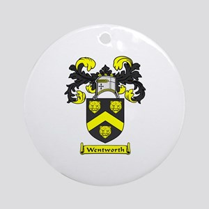 WENTWORTH Coat of Arms Ornament (Round)