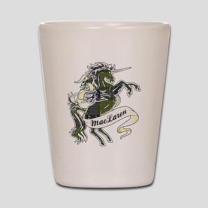 MacLaren Unicorn Shot Glass