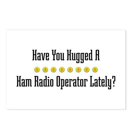 Hugged Ham Radio Operator Postcards (Package of 8)