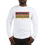 BJJ Warning - Choking Hazard long sleeve shirt