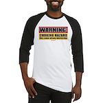 BJJ Warning - Choking Hazard baseball jersey