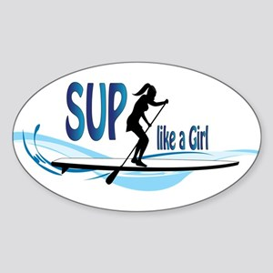 SUP like a Girl Sticker
