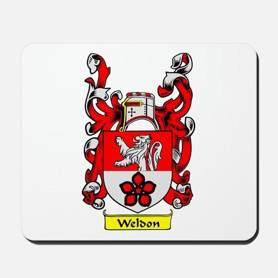WELDON Coat of Arms Mousepad
