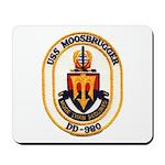 USS MOOSBRUGGER Mousepad
