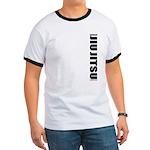 We've got your back - ringer BJJ tee shirt