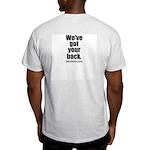 We've got your back - BJJ t-shirt