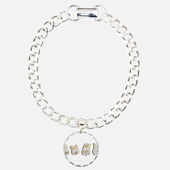 Funny Dentist Charm Bracelet, One Charm