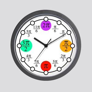 Prosecutors Pi Clock Wall Clock