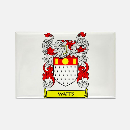 WATTS Coat of Arms Rectangle Magnet