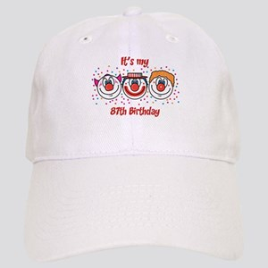 Its my 87th Birthday (Clown) Cap