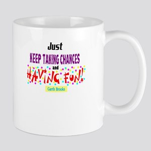 Taking Chances/Having Fun-Garth Brooks Mugs