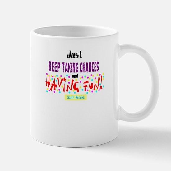 Taking Chances/Having Fun-Garth Brooks Mugs