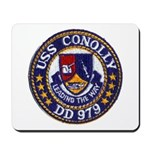 USS CONOLLY Mousepad