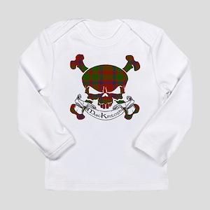 MacKintosh Tartan Skull Long Sleeve Infant T-Shirt