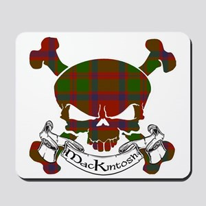 MacKintosh Tartan Skull Mousepad