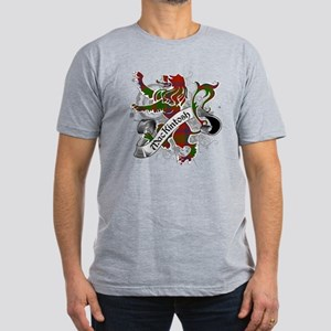 MacKintosh Tartan Lion Men's Fitted T-Shirt (dark)