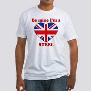 Steel, Valentine's Day Fitted T-Shirt