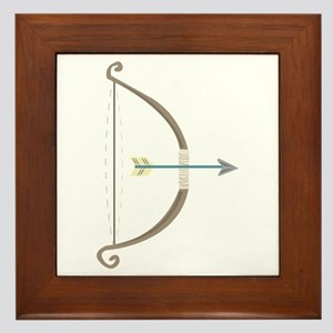 Bow and Arrow Framed Tile