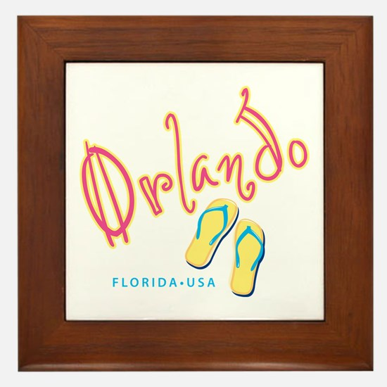 Orlando - Framed Tile