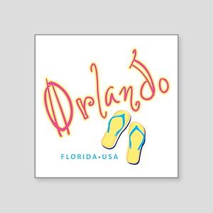 """Orlando - Square Sticker 3"""" x 3"""""""