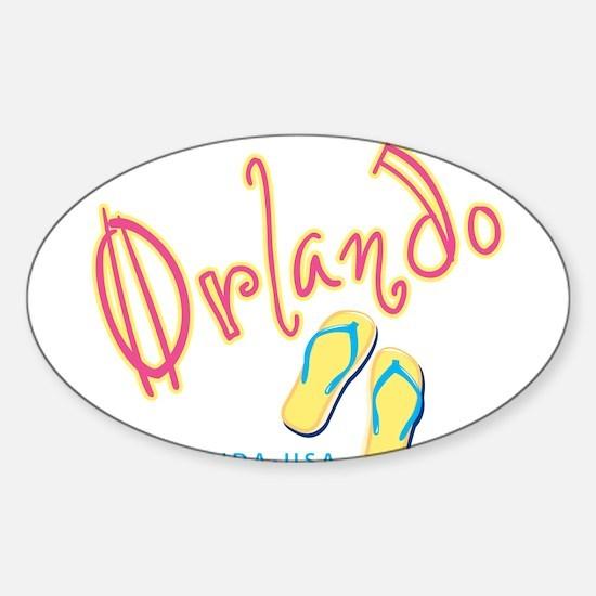 Orlando - Sticker (Oval)