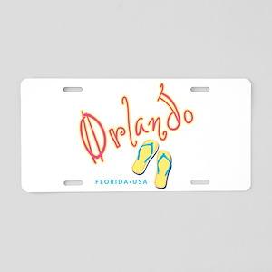 Orlando - Aluminum License Plate