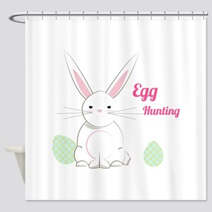 Egg Hunting Shower Curtain