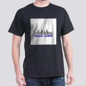Chicago, Illinois Dark T-Shirt