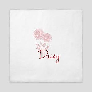 Daisy Flower Queen Duvet